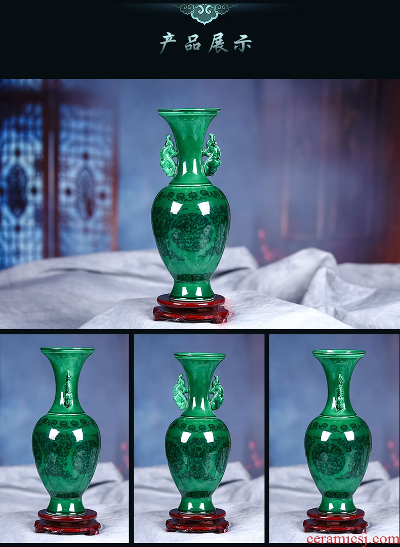 HM HOME household household act the role ofing is tasted vase 2019 new ceramic vase. 0785254-35459638325