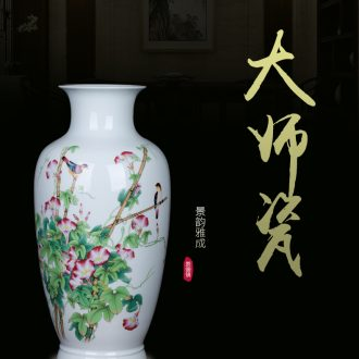 American Chinese drawing modern household ceramic vase restaurant sample room sitting room of large vases, furnishing articles - 571484687924