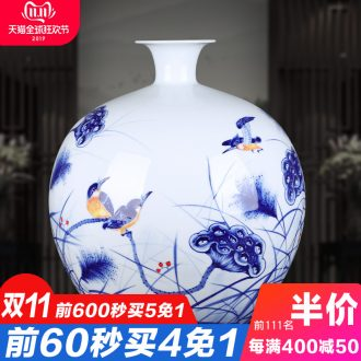 The Master of jingdezhen chinaware big vase hand - made repeatedly to furnishing articles gifts club villa hotel