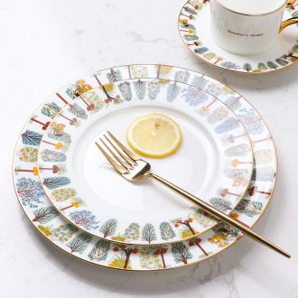 [directly] at the British museum currency European - style ceramics a person eat western - style food tableware sets up phnom penh steak dishes