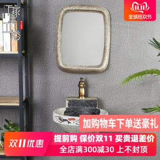 M beautiful Chinese wall simple retro toilet lavabo ceramics lavatory is suing balcony stage basin
