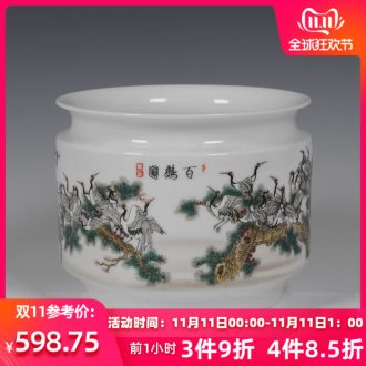 Jingdezhen ceramics furnishing articles archaize of I and contracted household vase in the sitting room porch crafts jewelry accessories