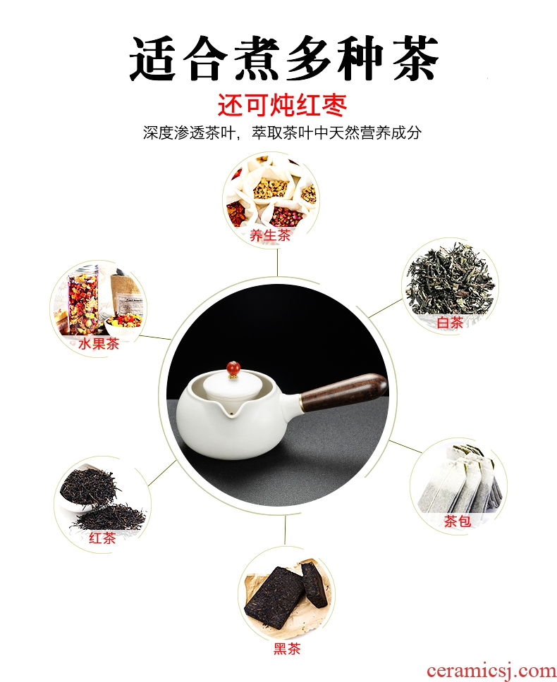 Bin Depp Er boiling tea ware ceramic teapot electric TaoLu boiled tea stove'm white tea, black tea pot pot clay POTS side