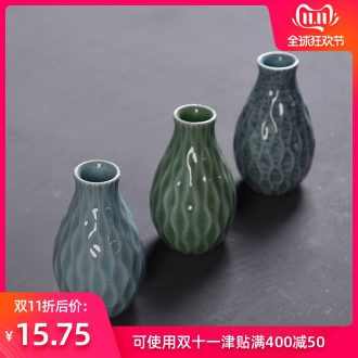 Hong bo acura creative home furnishing articles hydroponic flower implement hydroponic flower vase home decoration ceramic glass