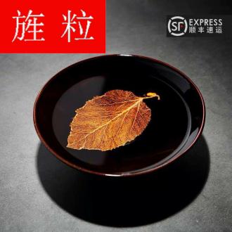 Continuous grain up green was konoha temmoku lamps of jizhou up ceramic tea cup, tea sets jingdezhen domestic big restoring ancient ways