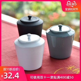Hong bo the best sealing ceramic tea set tea caddy fixings tea caddy fixings storehouse household storage travel pot pu 'er tea boxes