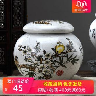 Cloud Cloud travel portable caddy fixings ceramic tea jar airtight jar airtight storage pot tea POTS