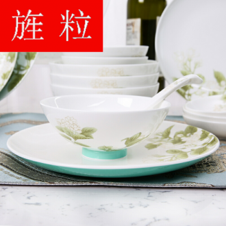 Continuous grain of Gao Chun Ceramics gaochun Ceramics ipads porcelain tableware suit suite of ceramic tableware in the kitchen