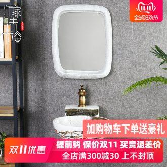 M beautiful ceramic wall lavabo small family hang a wall lavatory household bathroom toilet wash gargle