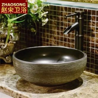Europe type restoring ancient ways in the small ceramic creative stage basin, art basin toilet lavabo lavatory household