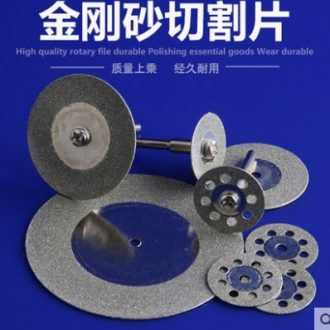 Silicon carbide saw blade for cutting the jade glass porcelain stone, electric grinding accessories mini diamond cutting blade
