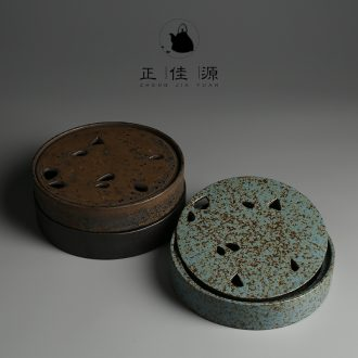 Restoring ancient ways is good source of coarse pottery tea tray ceramic tea pot on tea table storage simple plate of Japanese up dry mercifully tea