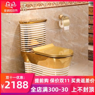 Household ceramic toilet pit from 305 to 400 against the stench, small family siphon toilet toilet implement