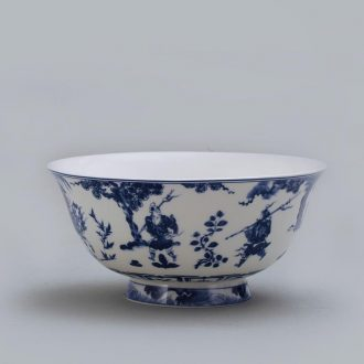 3 jy bowl suit of jingdezhen ceramic tableware 4.5 inch tall bowl 6 inch rainbow such use creative household ipads porcelain rice