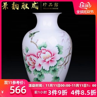 Jingdezhen ceramic hand - made flowers vase decoration crafts are sitting room porch flower arranging, arts and crafts