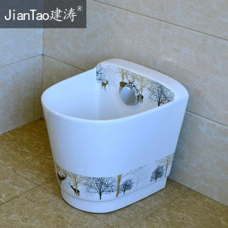 The Mop pool ceramic Mop pool large balcony toilet basin of Mop Mop pool slot household Mop pool
