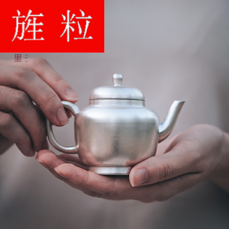 Continuous grain of jingdezhen teapot checking silver glaze all his DengHu kung fu ceramic teapot is not it