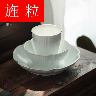 One continuous grain food tableware chopsticks sets a single household sweethearts bowl ceramic Japanese dishes contracted Nordic ins