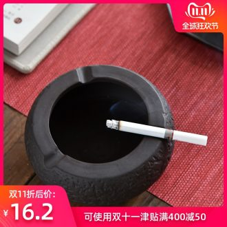 Hong bo acura ashtray home office sitting room, KTV rooms, hotel move ceramic ashtray customization