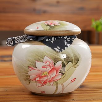 East west tea pot of ceramic tea pot seal pot flower POTS puer tea pot pottery and porcelain drum GA3303 2