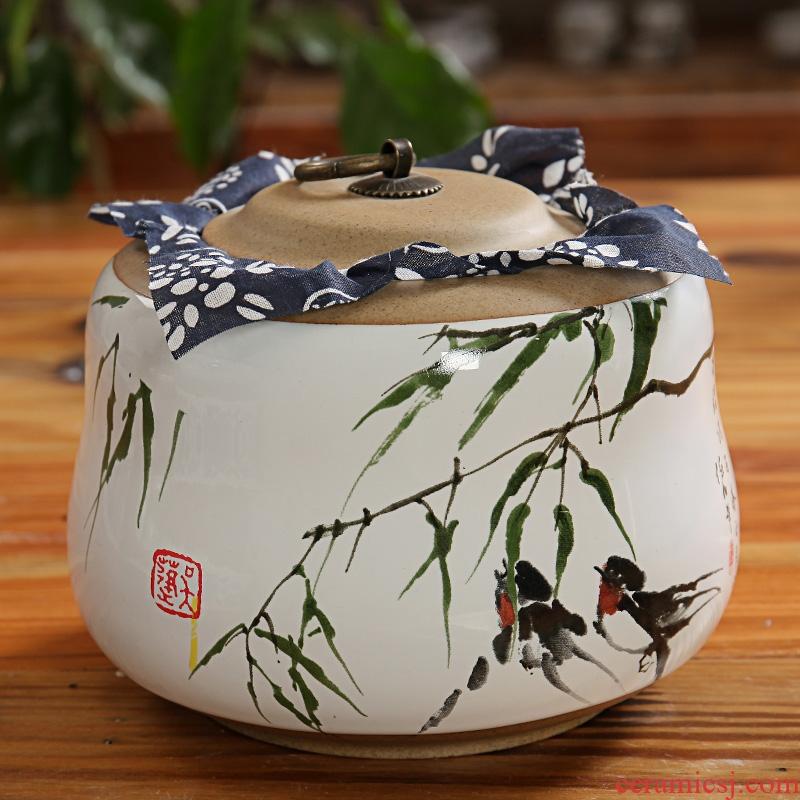 East west tea pot of tea caddy fixings ceramic tea pot portable size small POTS pottery and porcelain 3 and a half POTS of gourd
