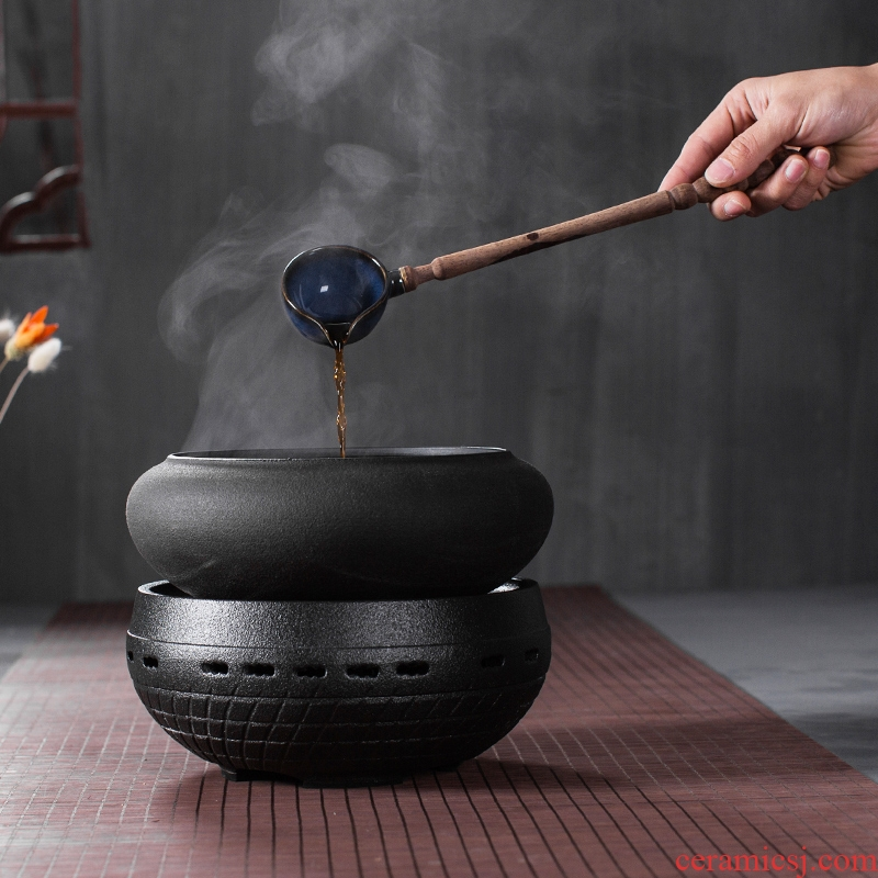 Bin, tea set temperature ceramic black tea pu - erh tea is to boil tea mercifully tea machine temperature burn hydropower TaoLu kung fu tea, black pottery