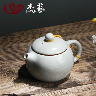 Your up teapot tea ware azure open piece of home of kung fu tea set Your porcelain ceramic xi shi pot a teapot