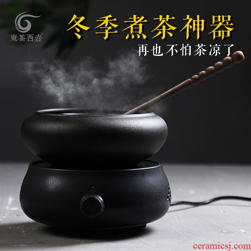East west tea pot ceramic electric TaoLu cooking pot home Japanese kung fu tea pu - erh tea steam temperature boiling tea