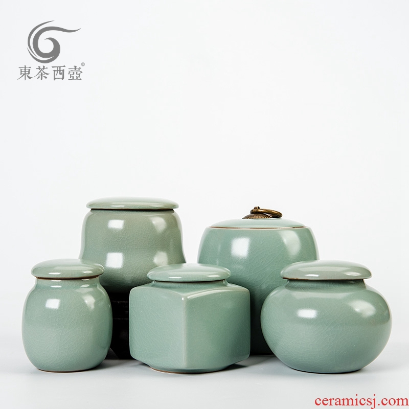 East west pot of your porcelain tea POTS sealed as cans ceramic tea pot light glaze your up caddy fixings small package