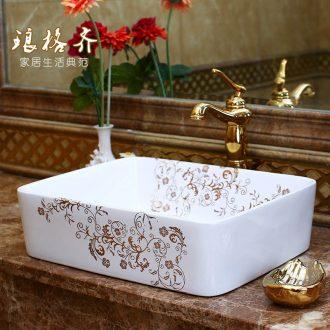 The package mail on bonsai, ceramic lavabo that defend bath lavatory basin, art basin square living flowers
