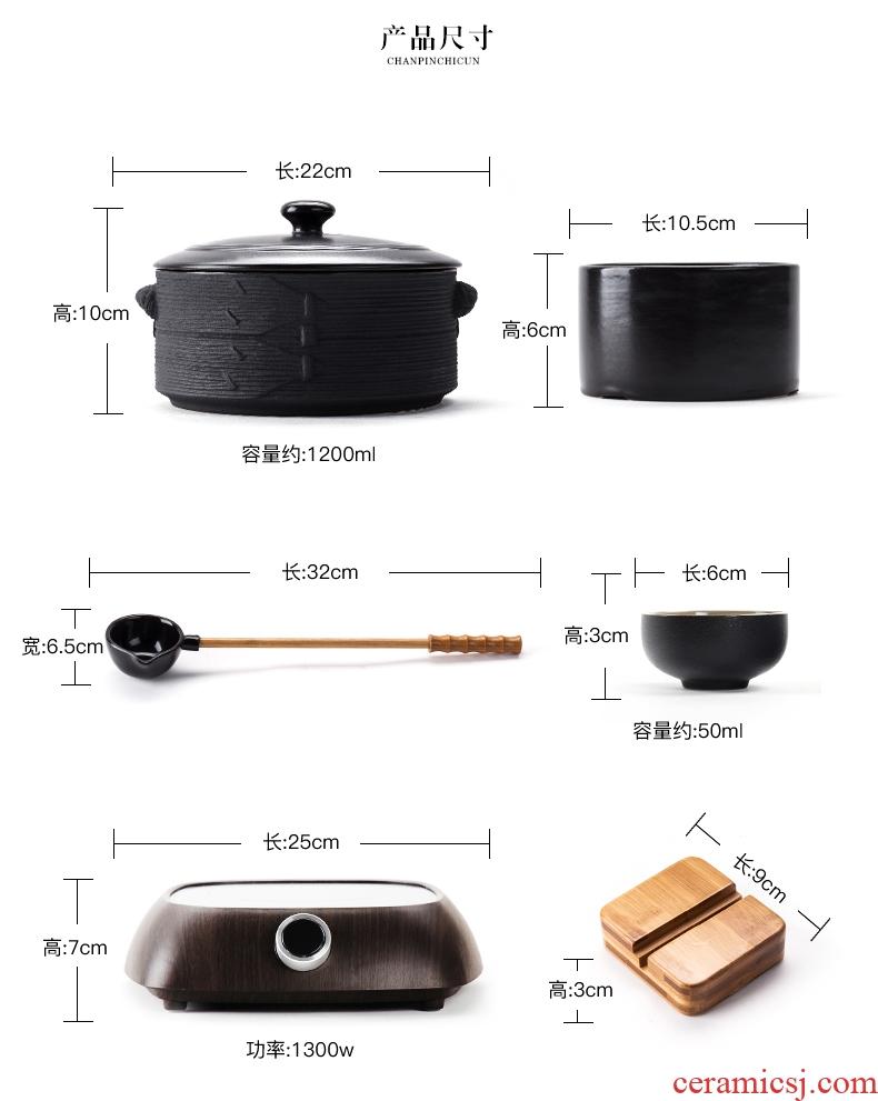 Bin, boil tea ware ceramic boiling kettle black tea pu 'er tea stove home points to restore ancient ways the tea, the electric TaoLu suits for