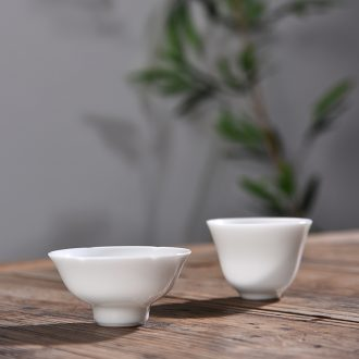 Chen xiang ceramic tea set sample tea cup high - white tea tasting cup kunfu tea cup, small cup master CPU