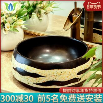 European stage basin circular for wash basin ceramic art basin basin lavatory basin sink sink