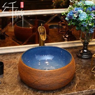 Europe type mini size small family ceramic square stage basin extra small balcony oval sink