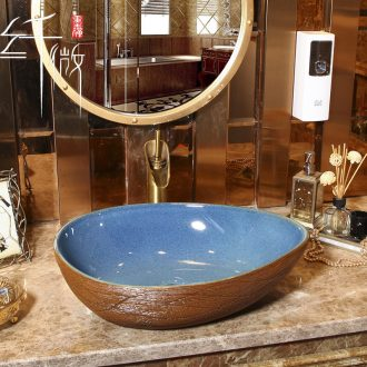 Ideas on the sink basin ceramic basin of the basin that wash a face in the bathroom toilet stage basin home European