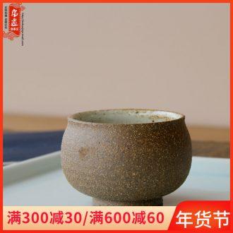 Jingdezhen ceramic cups tea master cup checking pottery plain tea tea fullness creative tea house furnishing articles