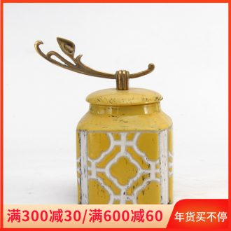 Clearance furnishing articles on a less a price rule ceramic jar of household act the role ofing is tasted furnishing articles