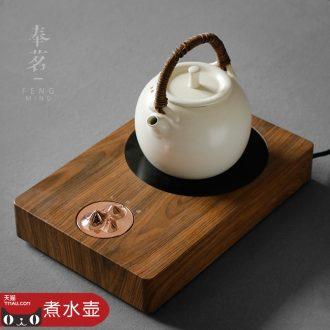 Serve tea soda glaze boiling girder kettle boil water ceramic clay electric TaoLu tea tea tea stove small electric household