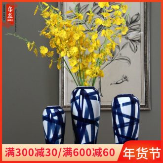 I and contracted land sitting room creative flower arranging furnishing articles home decoration ceramic dry flower flower floral arrangements