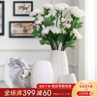 Creative I and contracted fashion home decoration decoration furnishing articles landing simulation ceramics vases, flower implement sitting room