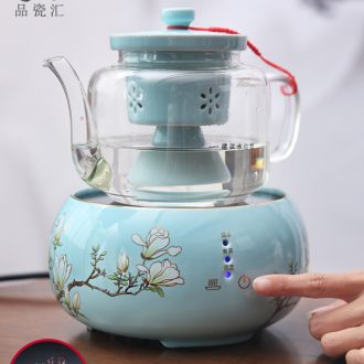 Electrical boiled tea exchanger with the ceramics TaoLu suits for intelligent touch - screen automatic cooking steaming kettle black tea tea glass household utensils
