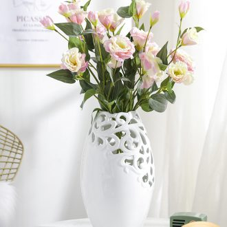 I and contracted Nordic creative household vase ceramic furnishing articles furnishing articles sitting room flower arranging desktop European table flowers