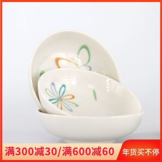 The cost of clearance price ceramic bowl household to eat bread and butter plate character express cartoon cutlery dishes