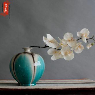 Jingdezhen ceramic up ceramic decoration home sitting room TV ark, flower flower flower ornaments furnishing articles