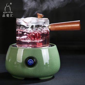 High temperature resistant glass cooked this mini electric TaoLu ceramic teapot elder brother up with household steaming kettle pu 'er tea tea stove