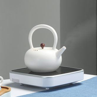 Quiet life in the white water jug kettle boiling kettle ceramic electric TaoLu teapot tea health household teapot