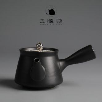 Are good source of manual lateral coarse pottery teapot ceramic tea set filter pot of kung fu tea pot teapot household items
