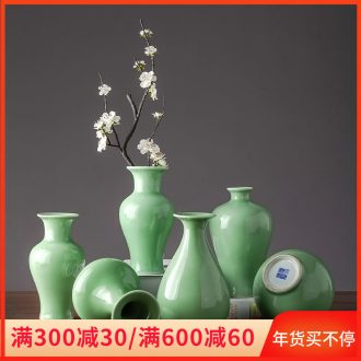 Ceramic dry flower vase household contracted sitting room decoration new Chinese TV cabinet table cost cut decorative furnishing articles