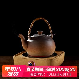 Household ceramic kung fu tea kettle pot clay POTS small electric TaoLu boiled tea, the tea stove small mini.mute