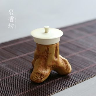 YanXiang fang stump lid doesn ceramic cover bracket set kung fu tea tea spare parts cover